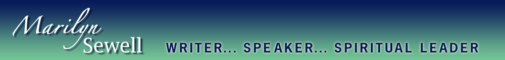 Marilyn Sewell - Writer... Speaker... Activist...